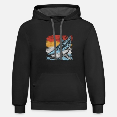 Tiger Shark Tiger Shark - Unisex Two-Tone Hoodie