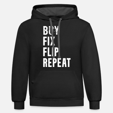BUY FIX FLIP REPEAT - Unisex Two-Tone Hoodie