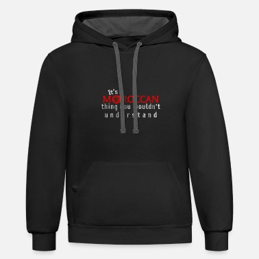 Tradition Morocco Tradition - Unisex Two-Tone Hoodie