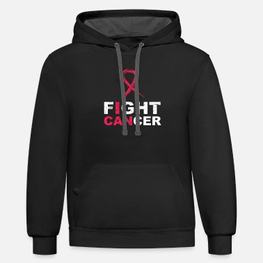 Fight Cancer Cancer fight cancer - Unisex Two-Tone Hoodie