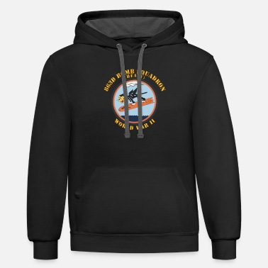 T Shirt AAC 863d Bomb Squadron WWII - Unisex Two-Tone Hoodie