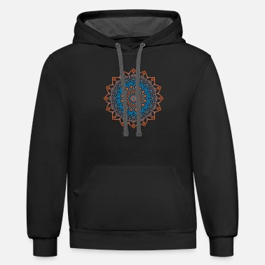 Sun and the spirit design - Unisex Two-Tone Hoodie