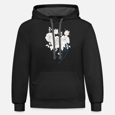 Alchemy Beautiful Nymph Design - Unisex Two-Tone Hoodie