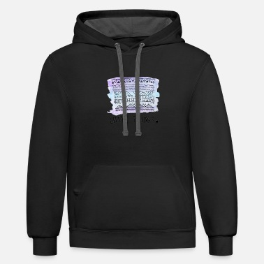 LITTLE THINGS - Unisex Two-Tone Hoodie