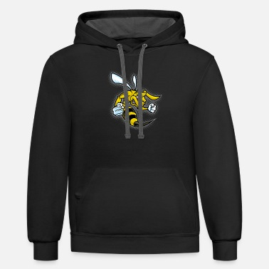 Wasp wasp - Unisex Two-Tone Hoodie