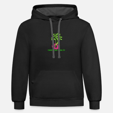 Health care - Unisex Two-Tone Hoodie