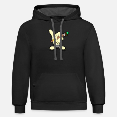 Hand Drawn Hand Drawn - Unisex Two-Tone Hoodie