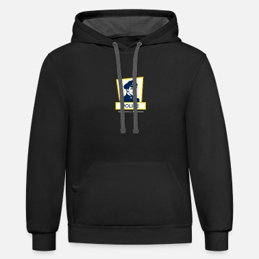 Police to serve & protect - Unisex Two-Tone Hoodie