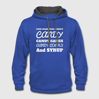 Candy Candy Candy Candy - Contrast Hoodie