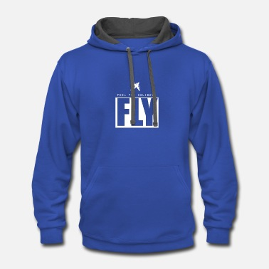 Fly Fly - Contrast Hoodie