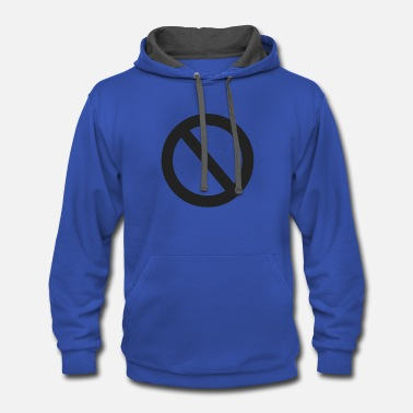 Disability Disable symbol - Contrast Hoodie