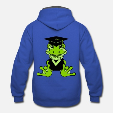 High School Graduate college graduation high school graduation school s - Contrast Hoodie
