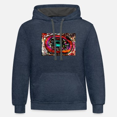 Visualization Visual storn - Contrast Hoodie