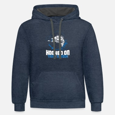 Lake Hooked on the Lake - Contrast Hoodie