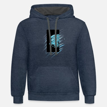 Lion - Contrast Hoodie