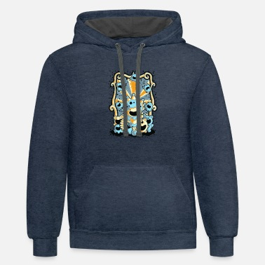 Circus circus - Contrast Hoodie