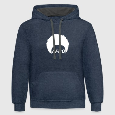 Afro - Contrast Hoodie