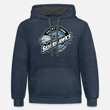 Galaxy of Limbo Silverhawks - Unisex Two-Tone Hoodie