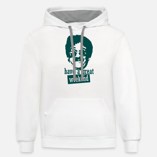 Eighties Hoodies & Sweatshirts - Weekend at Bernie s Bernies eighties vacation crui - Unisex Two-Tone Hoodie white/gray