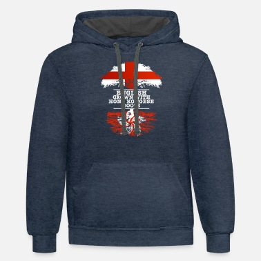 Hong Kong English Grown With Hong Kongese Roots - Unisex Two-Tone Hoodie