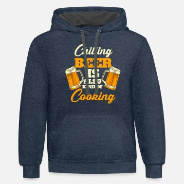 Hobby Cook Cooking | Hobby Cook Funny Cooking Design - Unisex Two-Tone Hoodie