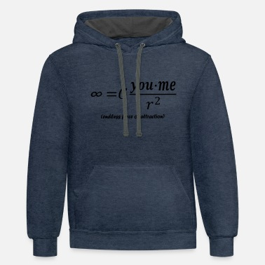 Attractive force of attraction - Unisex Two-Tone Hoodie