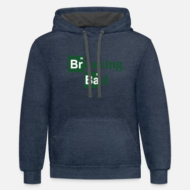 Walter White Walter White Breaking Bad 2018 Heisenberg - Unisex Two-Tone Hoodie