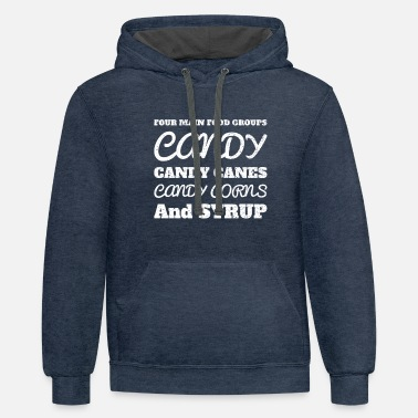 Candy Candy Candy Candy - Unisex Two-Tone Hoodie