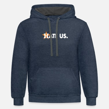 HATE US Proud Houston Baseball Fan - Unisex Two-Tone Hoodie