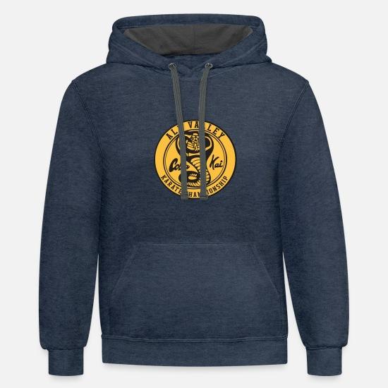 Alion Mens Fleece Hooded Multi Pocket Pullover Long-Sleeved Sweatshirt