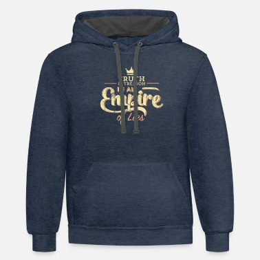 Empire Truth is Treason In An Empire Of Lies print - Unisex Two-Tone Hoodie