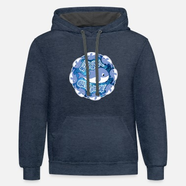 Whale Of A Good Time - Unisex Two-Tone Hoodie
