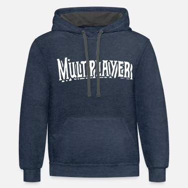 Multiplayer multiplayer - Unisex Two-Tone Hoodie
