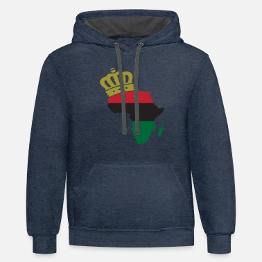 African American Pride t shirts - Unisex Two-Tone Hoodie