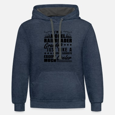 Model Railroaders Model Railroader - Unisex Two-Tone Hoodie