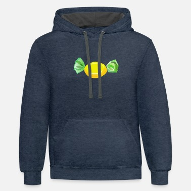 Candy candy - Unisex Two-Tone Hoodie