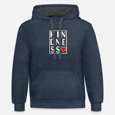 Gangster Kindness - Unisex Two-Tone Hoodie