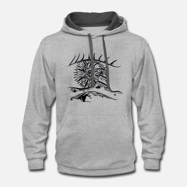 Perception Perception is Everything - Contrast Hoodie