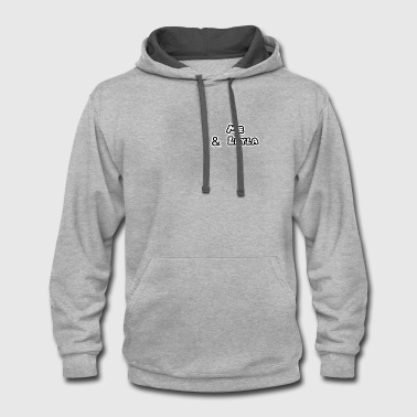 Official Brand Merchandise - Contrast Hoodie