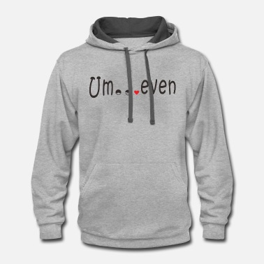 Evening Um even - Contrast Hoodie