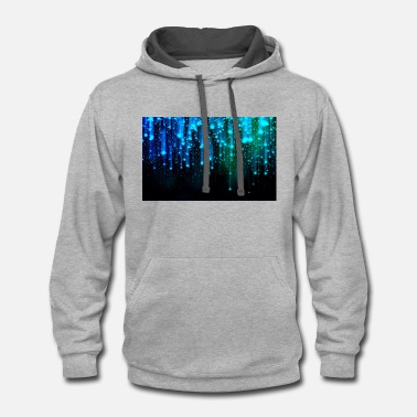 Abstract abstract - Contrast Hoodie