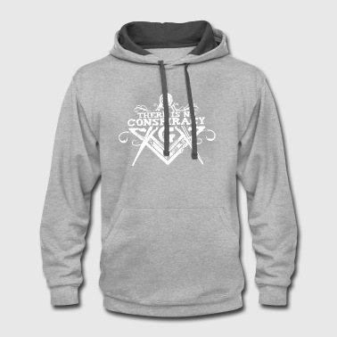 There Is No Conspiracy - Contrast Hoodie