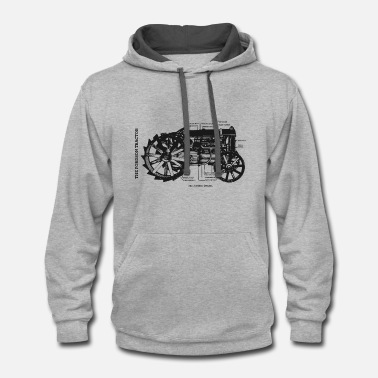 Tractor The Fordson Tractor - Contrast Hoodie