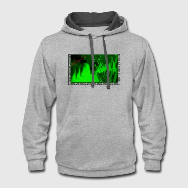 Ancient Greece Statue Ancient Greece Green - Contrast Hoodie