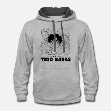 One Piece Trio Badas - One Piece - Contrast Hoodie