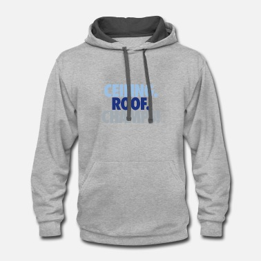 Roof Ceiling roof champs - Contrast Hoodie