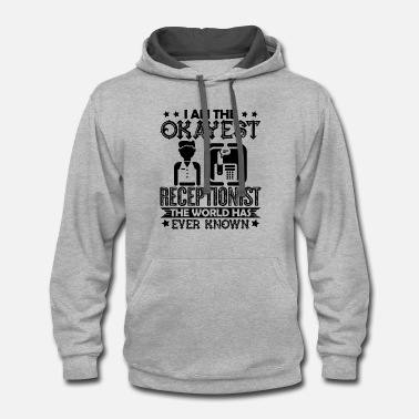 Receptionist Receptionist - Contrast Hoodie