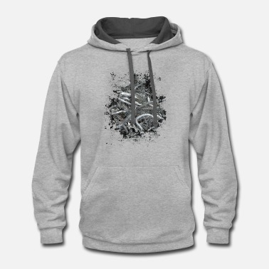 Twisted Twisted - Contrast Hoodie