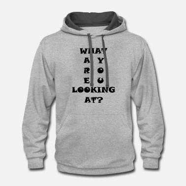 Text text - Contrast Hoodie