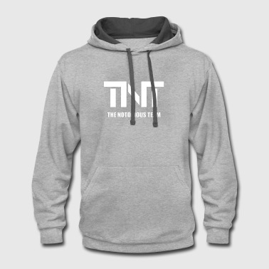 TNT the notorious team t-shirts - Contrast Hoodie